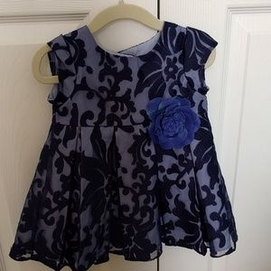 12 month Pippa and Julie navy dress